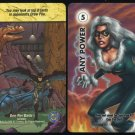 1996 Marvel & DC Overpower Black Cat/Batman Promo Cards
