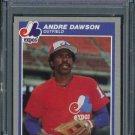 1985 Fleer #394 ANDRE DAWSON Card PSA 9 Expos