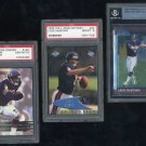 Bears CADE McNOWN PSA/BGS RC Card Lot + 2000 CE PSA 10
