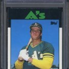 1986 Topps Traded #20T JOSE CANSECO RC PSA 10 Athletics