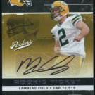 2007 Contenders MASON CROSBY RC Ticket Auto, Packers