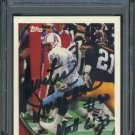 1994 Topps #296 CURTIS DUNCAN Auto Card PSA/DNA Oilers