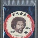 1976 Buckmans Discs WALLY CHAMBERS PSA 10 Chicago Bears
