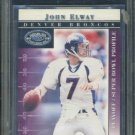 2000 Donruss Pref Graded JOHN ELWAY Card BGS 9.5 HOF