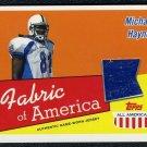 2003 Topps A-A MICHAEL HAYNES Senior Bowl Jersey Card