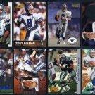 Cowboys TROY AIKMAN Card Lot w/1999 Pinhead Pin, HOF