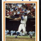 1986 Kansas City Royals Police Set GEORGE BRETT Card