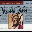 1992 Pro Line Port. CHARLEY TAYLOR Certified Auto Card