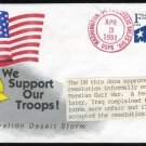 1991 Iraq/Persian Gulf War UN Resolution Ever Cover