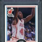 1990 Fleer #101 GLEN RICE RC PSA 10 Miami Heat