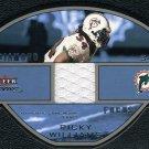 2003 Fleer Focus RICKY WILLIAMS GU Jersey Card #/100