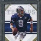2009 SP Threads #95 TONY ROMO Card PSA 10 Cowboys