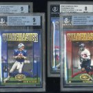 2000 Donruss Graded Staremasters BGS Card Lot; Seau+