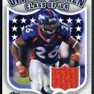 2006 Topps DPP TATUM BELL Game Used Jersey, Broncos
