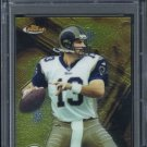 2001 Finest #92 KURT WARNER Card PSA 10 Rams