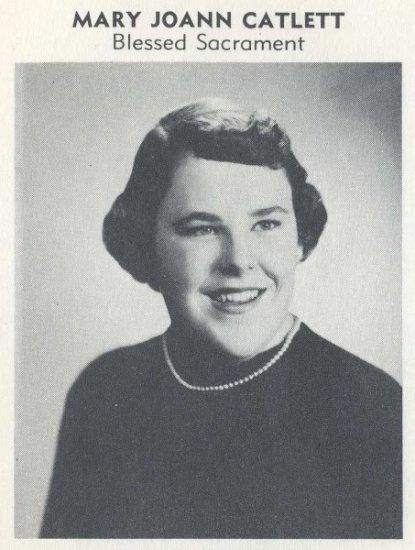 Actress MARY JO CATLETT's Senior High School Yearbook