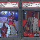 2000 Darius Miles RC PSA Graded Card Lot, LA Clippers