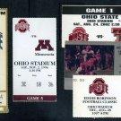 Ohio State University Football Ticket Stub Lot (5) OSU