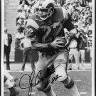 1973 Heisman JOHN CAPPELLETTI Autographed 8x10 Rams