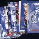 Syracuse University Autographed Postcard Set All Sports