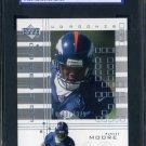 2000 UD Graded #123 Muneer Moore RC SGC 96 Broncos