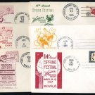 '62-'67 Kansas Precancel Society Event Canceled Covers