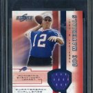 2002 Score QBC Materials JIM KELLY 2-Color Jersey Card