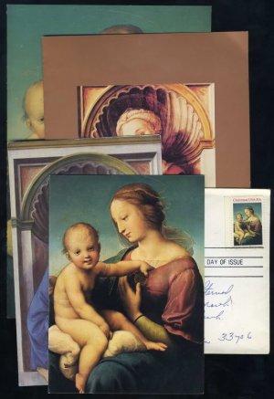1983-1984 Madonna & Child Stamp Programs, Cards, FDC+