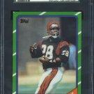1986 Topps #257 Larry Kinnebrew Card SGC 98 Bengals