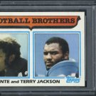1982 Topps #268 Football Brothers (Jackson) Card PSA 10