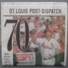 Mark McGwire 70 Homeruns St. Louis Newspaper, Complete