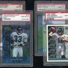 Jacksonville Jaguars PSA Graded Card Lot Fred Taylor RC
