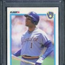 1990 Fleer #336 GARY SHEFFIELD Card PSA 10 Brewers