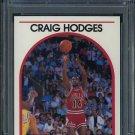 1989 Hoops #113 CRAIG HODGES Card PSA 10 Chicago Bulls