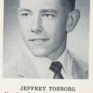 MLB Manager JEFF TORBORG's 1959 High School Yearbook