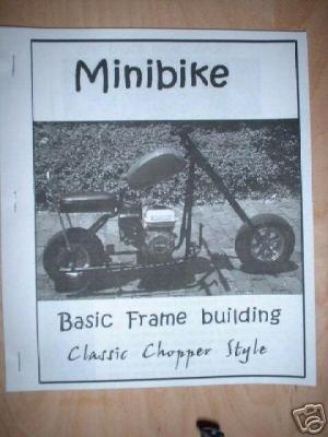 mini bike frame welding building guide