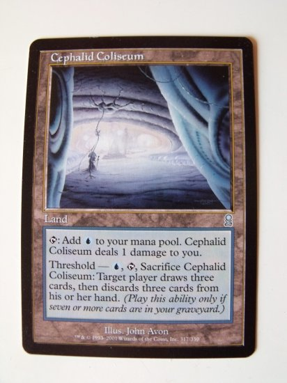 Cephalid Coliseum, Odyssey, NM Magic the Gathering