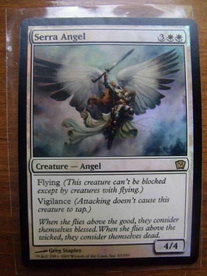 FOIL Serra Angel, 9th Ed., VF/NM Magic the Gathering