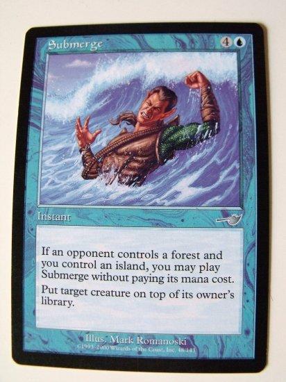 Submerge, Nemisis, VF+  Magic the Gathering