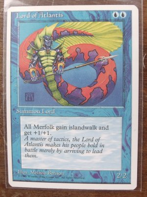 Lord of Atlantis, Revised, VF Magic the Gathering