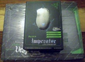 Razer Imperiator 4G Gaming Mouse and Razer Vespula Mouse Mat