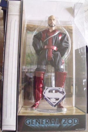 "General Zod 12"", Superman, Matty Collector, NIB"