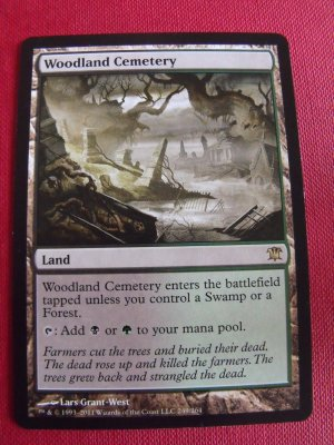 Woodland Cemetary, Innistrad, NM  Magic the Gathering