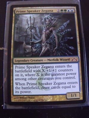 Prime Speaker Zegana, Gatecrash, NM  Magic the Gathering