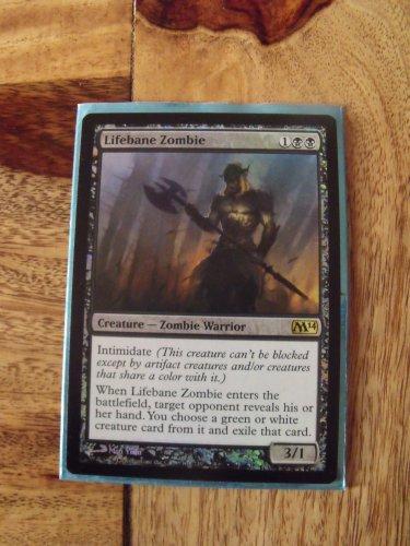 FOIL Lifebane Zombie, M14 NM  Magic the Gathering