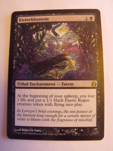 Bitterblossom, Morningtide, NM  Magic the Gathering