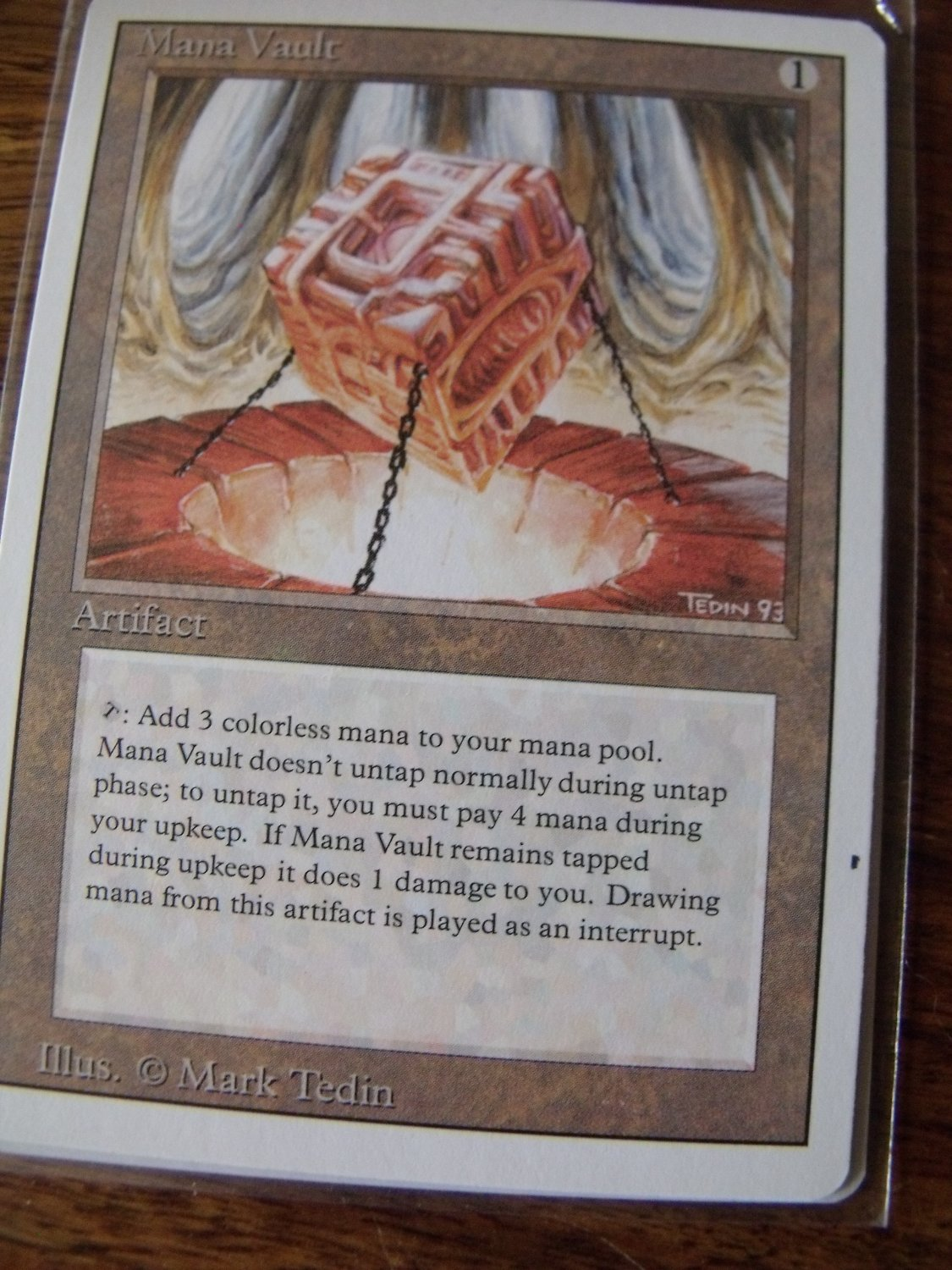 Mana Vault, Revised, NM   Magic the Gathering
