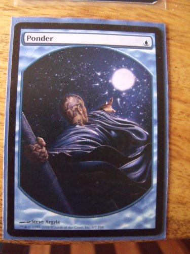 Ponder, Player's Rewards Promo, NM  Magic the Gathering