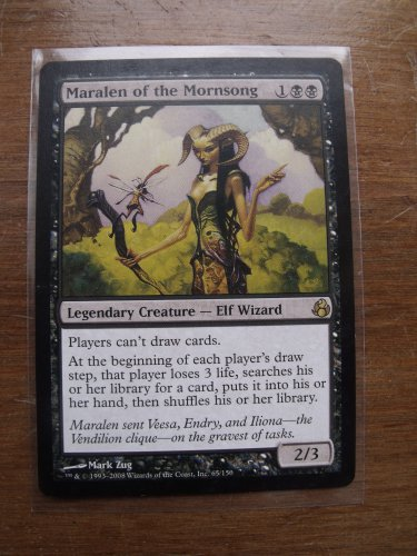 Maralen of the Mornsong, Lorwyn, VF/NM  Magic the Gathering