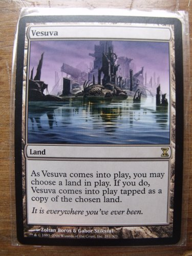 Vesuva, Time Spiral, VF/NM   Magic the Gathering